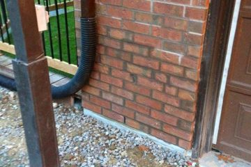 Foundation and brick repair - after