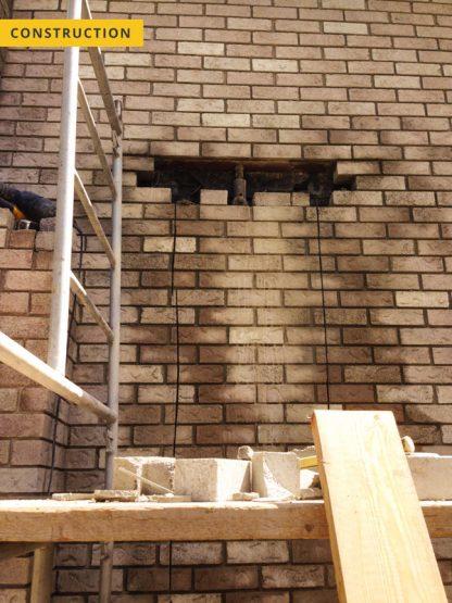 Window cut out - construction