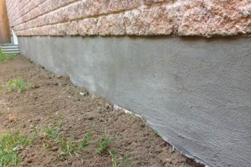 Foundation Parging