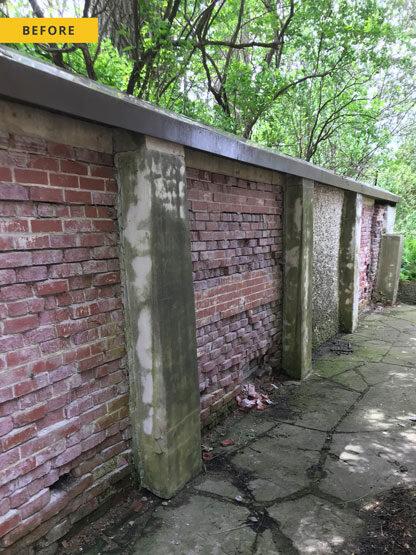 wet pebble dash finish, wall repair